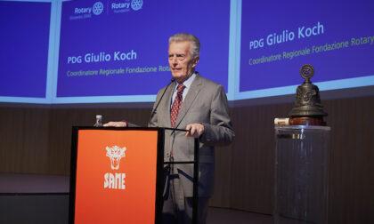 Il Rotary e il Governo degli Stati Uniti sostengono la lotta dell'Italia contro il Covid