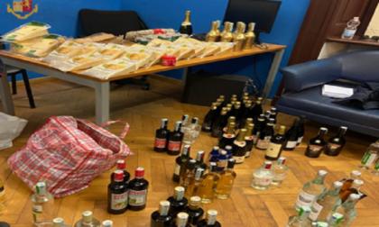 Champagne, alcolici e salumi rubati all'IN's di Cairate rivenduti: denunciati per ricettazione