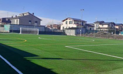 Un nuovo campetto  in erba sintetica per gli sportivi lonatesi