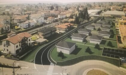 Con le otto villette di via Marone, si farà la strada di collegamento con il centro di Abbiate