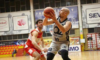 Basket, la Robur Saronno reagisce e sconfigge Legnano
