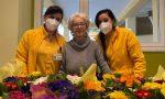 Nuova primavera alla RSA La Provvidenza di Busto con 400 primule donate agli ospiti