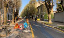 Aperto il cantiere di via Roma a Saronno, iniziano i lavori