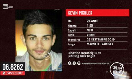 """Scomparso dal 2019 da Marnate, anche """"Chi l'ha Visto?"""" cerca Kevin Pichler"""