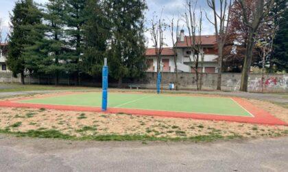 Niente volley al Parco Carducci di Olgiate: qualcuno s'è rubato la rete (nuova)