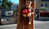 Pinocchio, ecco la prima opera nata  dai cedri abbattuti al parco Opai