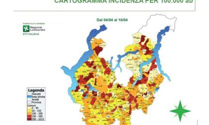 A Varese e Como incidenza sotto i 200. Massima attenzione sui focolai in azienda