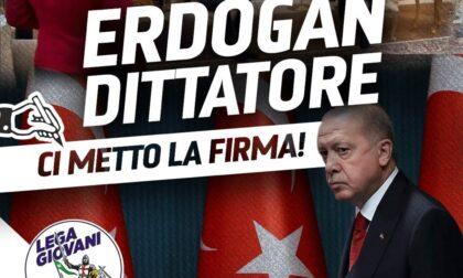 """""""Erdogan dittatore"""": la Lega Giovani lancia la petizione online"""