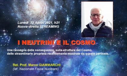 I neutrini e il cosmo: ospite del Gat uno dei massi esperti dell'Istituto Nazionale di fisica nucleare