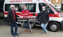 Dalla raccolta fondi una nuova barella per la Croce Rossa di Saronno