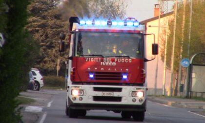 Due interventi in Valle Olona, sul posto i Vigili del fuoco