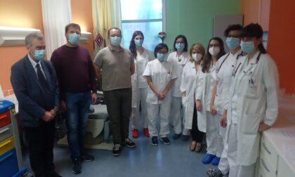 La sperimentazione del vaccino ReiThera passa da Varese: ieri le iniezioni