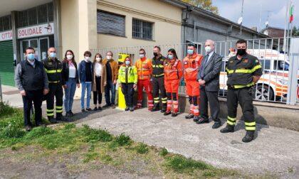 Inaugurato il defibrillatore donato dai Leo ai Vigili del Fuoco di Tradate