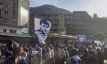 Festa fuori dal Sinigaglia per il Como calcio: conquistata la serie B