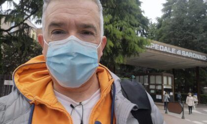 """Il """"grazie"""" al personale dell'ospedale di Saronno dal vicepresidente di Confcommercio Gallarate"""