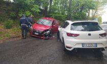 Incidente a Olgiate, due feriti in via Diaz