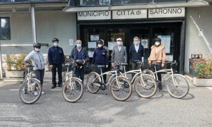 Arrivano cinque biciclette per gli Ispettori Ambientali del Parco Lura