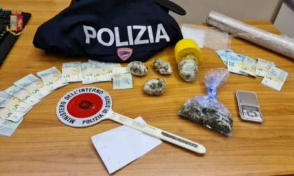 Spaccio, 2 denunciati e 11 giovani segnalati dalla Polizia di Busto