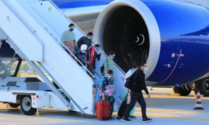Volo dall'India atterrato a Orio: tra i sei positivi, cinque casi di variante indiana e uno di inglese