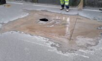 """Un altro cedimento lungo le strade di Malnate: """"Questa storia avrà mai fine?"""""""