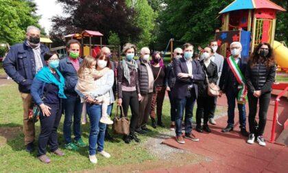 Castiglione: inaugurata l'area gioco del parco del Monteruzzo
