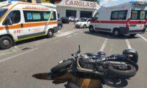 Incidente a Castellanza: scontro tra auto e moto in via Saronno