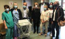 Un ecografo donato da AMOR e CAOS per le Cure Subacute di Angera