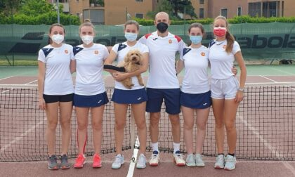 Quinta meraviglia per le ragazze del Club Tennis Ceriano