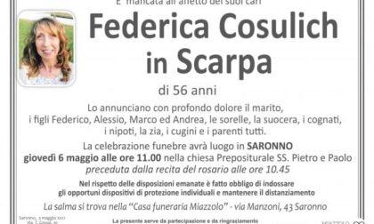 Lutto al liceo Legnani di Saronno: addio alla prof Cosulich