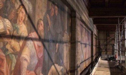 Sopralluogo fra i restauri nella chiesa di San Francesco