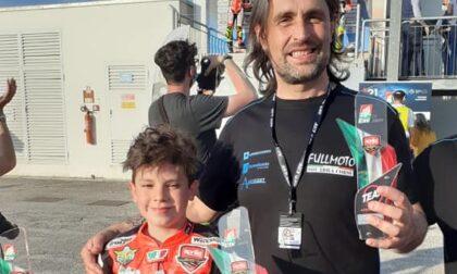 Gerenzano, Sponga sul podio della prima tappa del Campionato