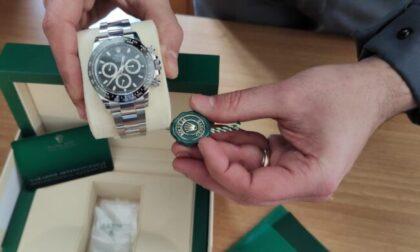Rolex e gioielli sequestrati alla dogana, due italiani sanzionati per contrabbando