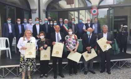 Castiglione Olona ha reso omaggio ai suoi cittadini benemeriti