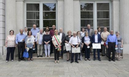 L'Amministrazione di Castellanza festeggia gli anniversari di matrimoni
