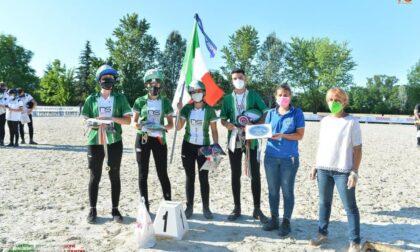 Equitazione: Colombo e Guidali dell'Asd Peter Pan sono Campioni d'Italia