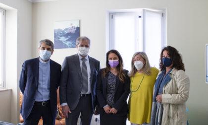 L'assessore regionale Locatelli in visita agli appartamenti Blu Home di Varese