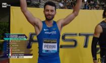 Lorenzo Perini sesto al Golden Gala di Firenze