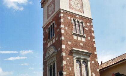 Si restaura la Torre civica di Origgio
