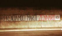 Cento striscioni di CasaPound per chiedere di liberare l'imprenditore Zennaro