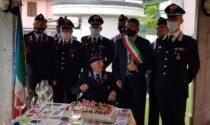 Cento candeline per il carabiniere in congedo Armando Gobbato
