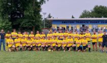 """Festa grande nel nuovo centro sportivo dell'Amatori Tradate Rugby: """"Finalmente abbiamo la nostra casa"""""""