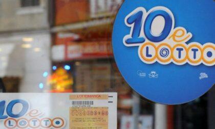 10eLotto: a Gallarate vincita da 2,5 milioni di euro