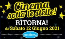 Il Cinema Sotto le Stelle torna a Saronno