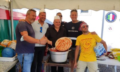 Risottata di solidarietà per i lavoratori Gianetti