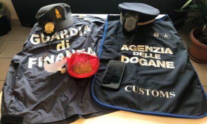 Voleva entrare in Italia con metamfetamina e marijuana: 28enne fermato in dogana