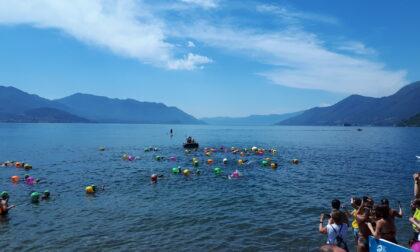 """Italian Open Water Tour, tappa """"del cuore"""" a Maccagno"""