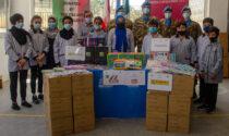 Libano: i Caschi blu italiani donano quaderni e cancelleria ai bimbi