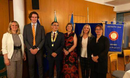 Passaggio di consegne per il Rotary Club di Saronno