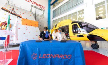 Siglato l'accordo fra Leonardo e il Soccorso Alpino: altri tre anni di collaborazione
