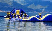 E vai con i tuffi: inaugurato il primo acquapark sul Lago di Como
